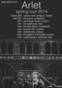 Arlet Tour Poster